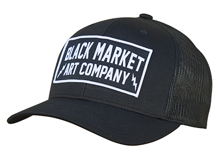 Black Market Art - Electric Retro Hat