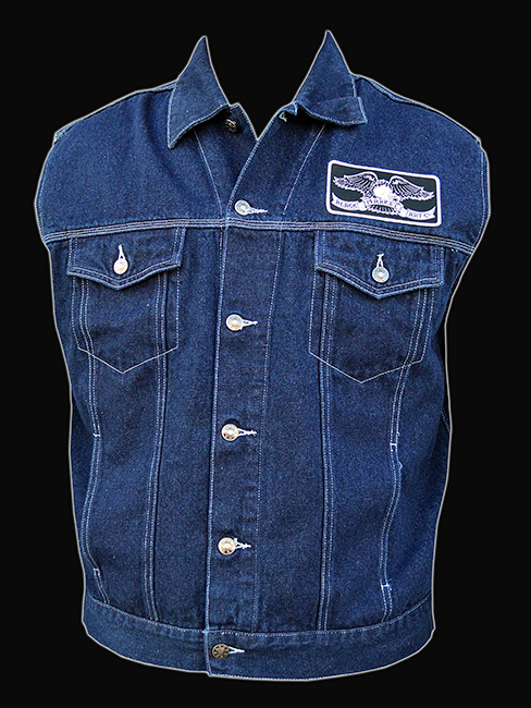 Mens Black Market - Denim Vest