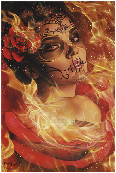 Burning Desire Art Print