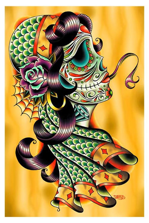 Cold Blooded Gypsy Art Print