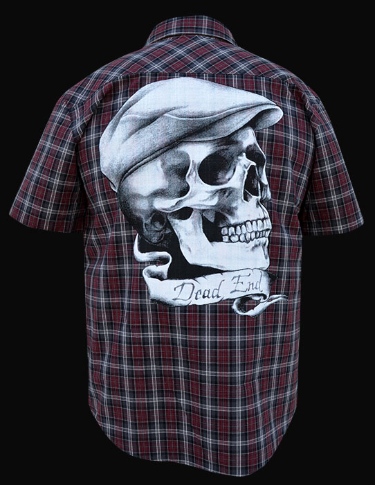 Mens Dead End - Short Sleeve Button Up