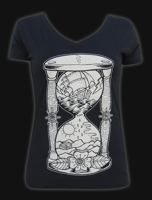 Hour Glass - Womens V Neck