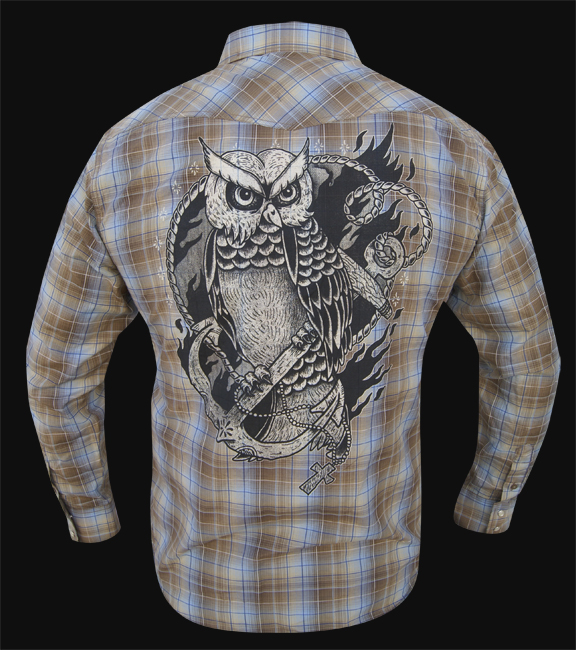 Mens Keep the Faith - Long Sleeve Western Button Up