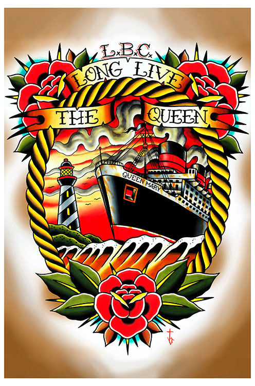 Long Live the Queen - Art Print