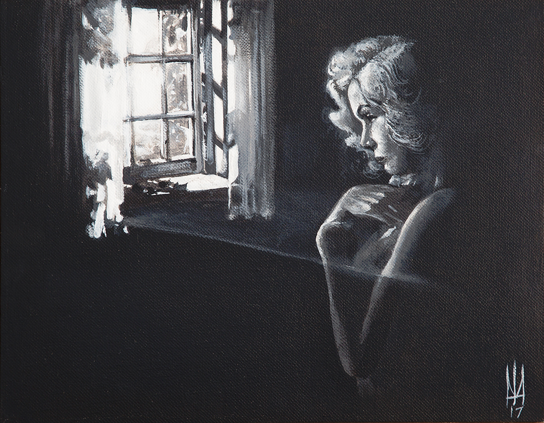 Longing - Canvas Giclee