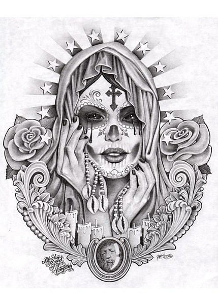 TattooLove On Pinterest Chicano Art Sugar Skull And
