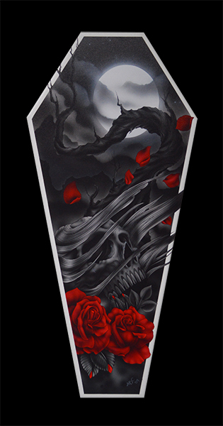 The Sad Truth - Canvas Coffin Giclee