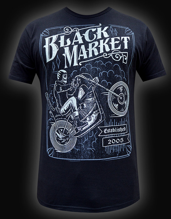 Mens Two Wheel Terror Tee