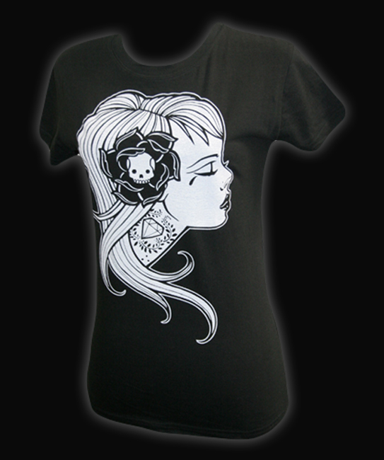 Womens Diamond Girl - Tee