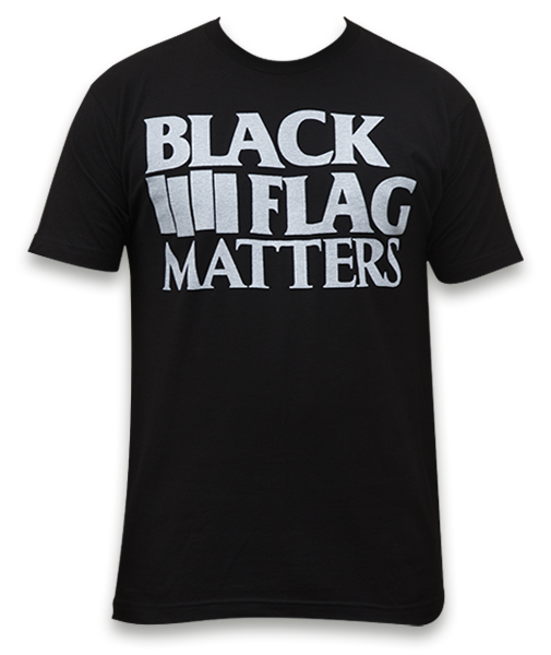 Mens Black Flag Matters Tee