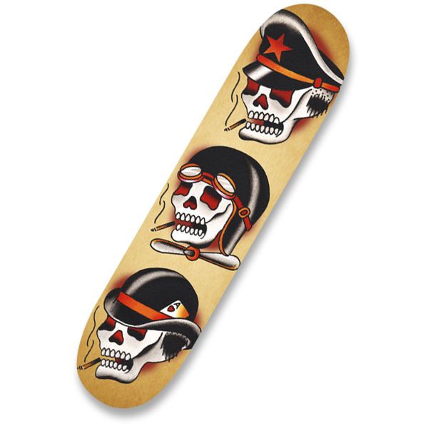 Three Hats - Skate Deck