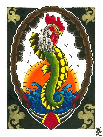 Chicken of the Sea - Canvas Giclee
