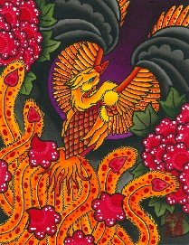 Phoenix Rising - Canvas Giclee