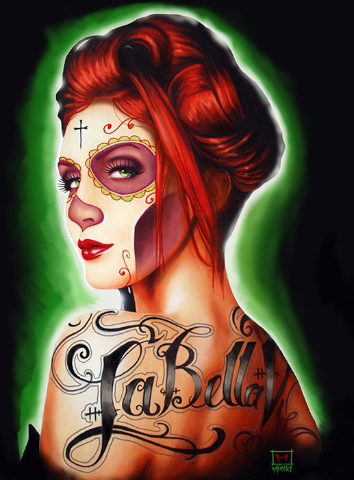 Bella Vida - Canvas Giclee