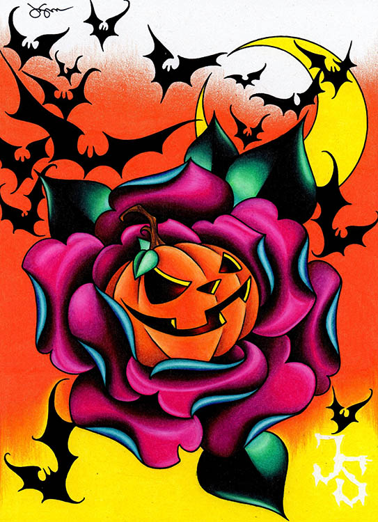 Candy corn canvas giclee black market art company for Candy corn tattoo