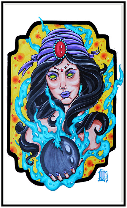 Gypsy Queen - Canvas Giclee
