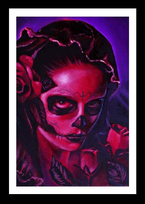 Day of the Dead Mary Art Print