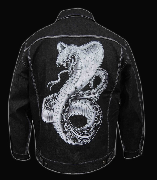 Mens Cobra Denim Jacket